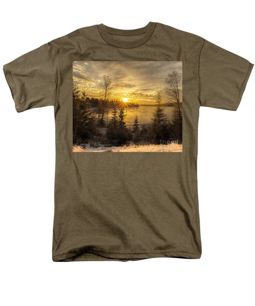 Norway Hedmark Men's T-Shirt  (Regular Fit) by Rose-Maries Pictures