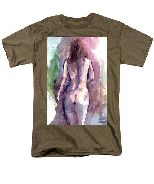 Nude Men's T-Shirt  (Regular Fit) by Faruk Koksal