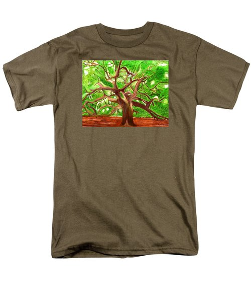Oak Tree Men's T-Shirt  (Regular Fit) by Magdalena Frohnsdorff