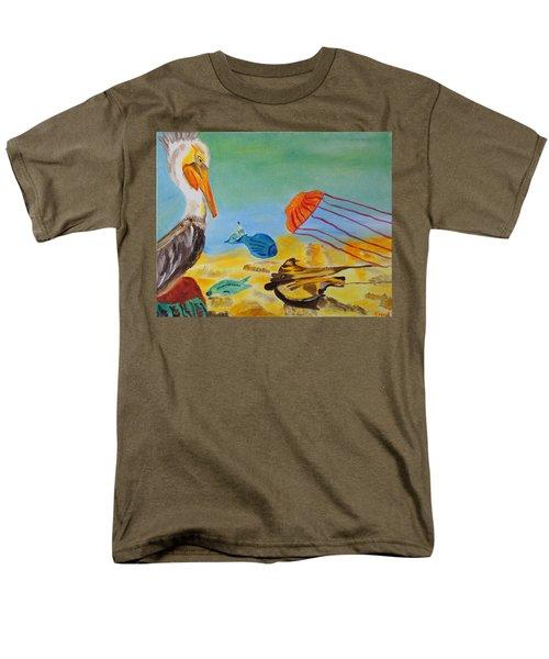 Observing Options Men's T-Shirt  (Regular Fit) by Meryl Goudey