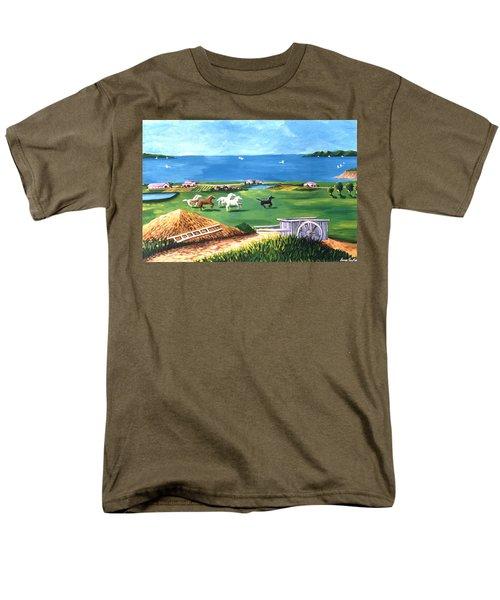 Ocean Ranch Men's T-Shirt  (Regular Fit) by Lance Headlee