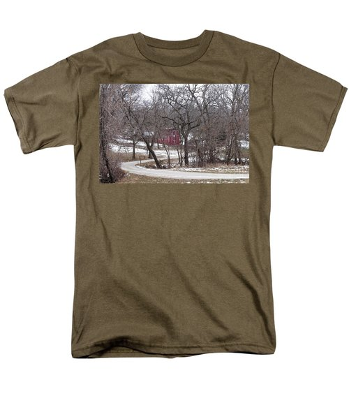 Off The Beaten Path Men's T-Shirt  (Regular Fit) by Liane Wright