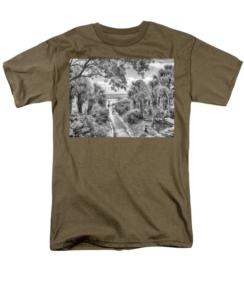 Men's T-Shirt  (Regular Fit) featuring the photograph Off To The Beach by Howard Salmon
