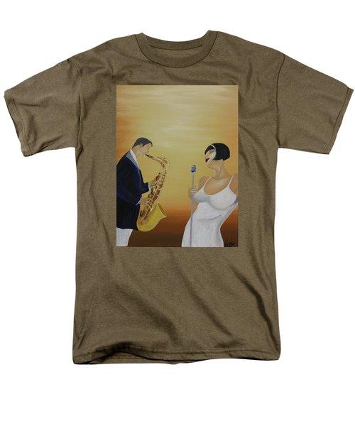 Oil Msc 001  Men's T-Shirt  (Regular Fit) by Mario Sergio Calzi
