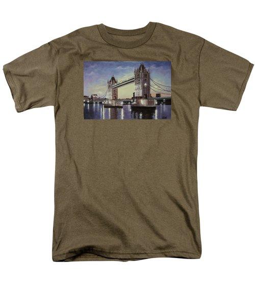 Oil Msc 046 Men's T-Shirt  (Regular Fit) by Mario Sergio Calzi