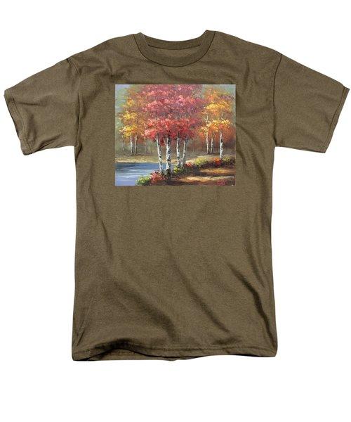 Oil Msc 049 Men's T-Shirt  (Regular Fit) by Mario Sergio Calzi