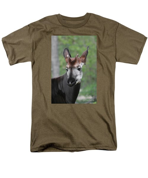Men's T-Shirt  (Regular Fit) featuring the photograph Okapi #2 by Judy Whitton