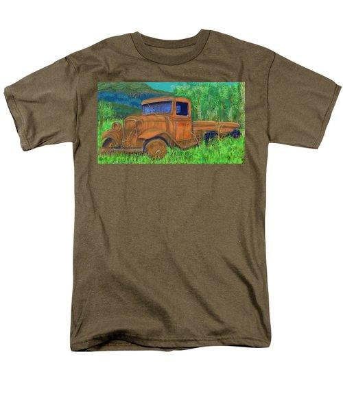 Old Canadian Truck Men's T-Shirt  (Regular Fit) by Hidden  Mountain