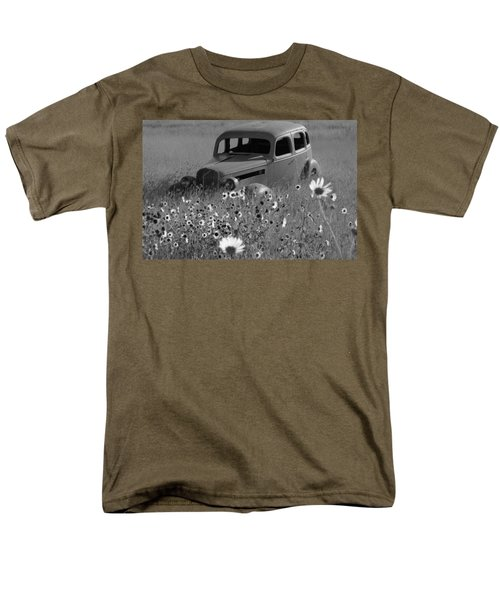 Men's T-Shirt  (Regular Fit) featuring the photograph Old Car by Leticia Latocki