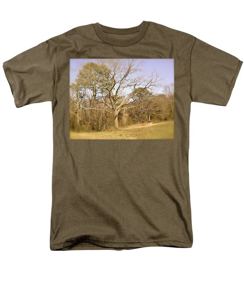Old Haunted Tree Men's T-Shirt  (Regular Fit) by Amazing Photographs AKA Christian Wilson