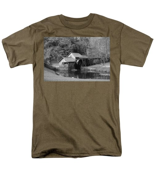 Virginia's Old Mill Men's T-Shirt  (Regular Fit) by Eric Liller