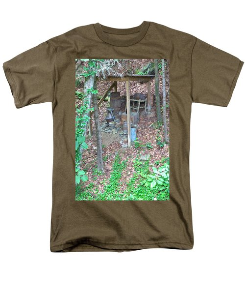 Old Mountain Still Men's T-Shirt  (Regular Fit) by Gordon Elwell
