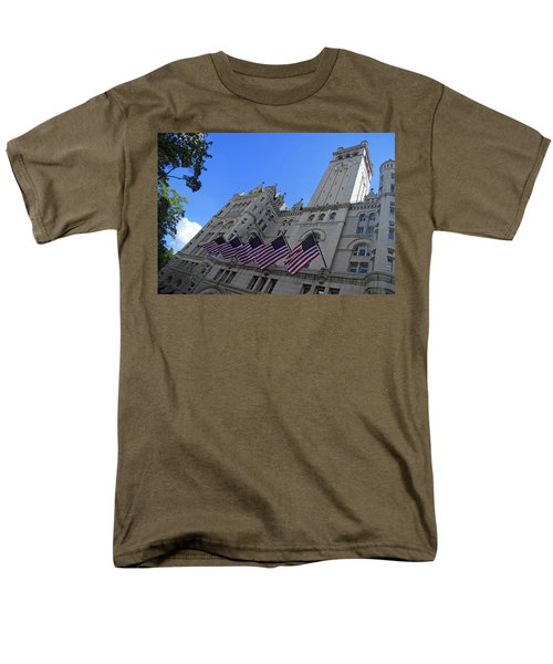 The Old Post Office Or Trump Tower Men's T-Shirt  (Regular Fit)