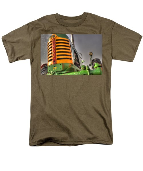 Oliver Tractor Men's T-Shirt  (Regular Fit) by Michael Eingle