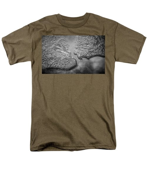 On Frozen Pond Collection 1 Men's T-Shirt  (Regular Fit) by Roxy Hurtubise