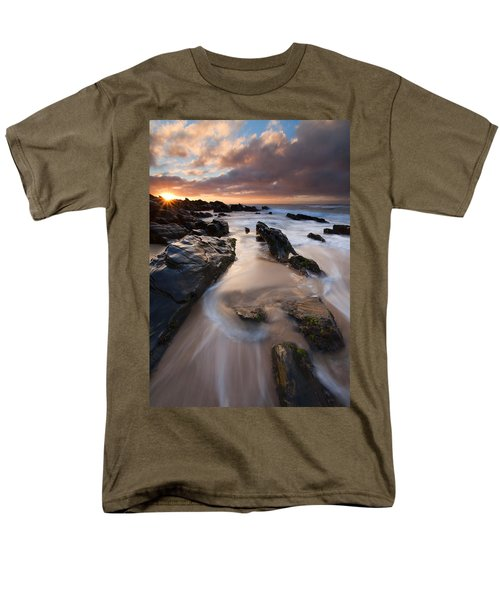 On The Rocks Men's T-Shirt  (Regular Fit) by Mike  Dawson
