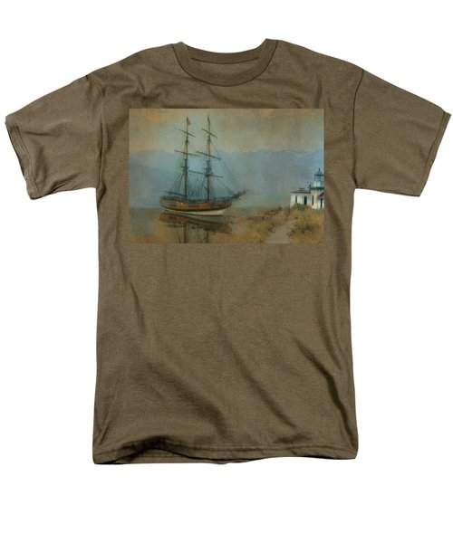 On The Water Men's T-Shirt  (Regular Fit) by Jeff Burgess