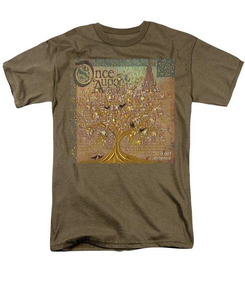 Once Upon A Golden Garden By Jrr Men's T-Shirt  (Regular Fit) by First Star Art