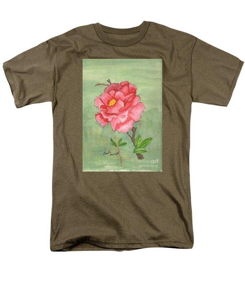 One Rose Men's T-Shirt  (Regular Fit) by Pamela  Meredith