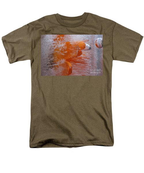 Men's T-Shirt  (Regular Fit) featuring the photograph Orange Flower by Randi Grace Nilsberg