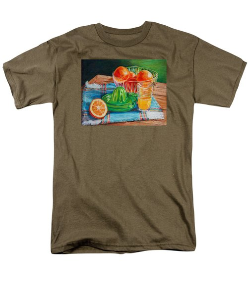Men's T-Shirt  (Regular Fit) featuring the drawing Oranges by Joy Nichols