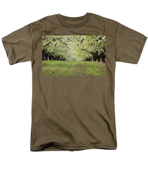 Men's T-Shirt  (Regular Fit) featuring the photograph Orchard by Patricia Babbitt
