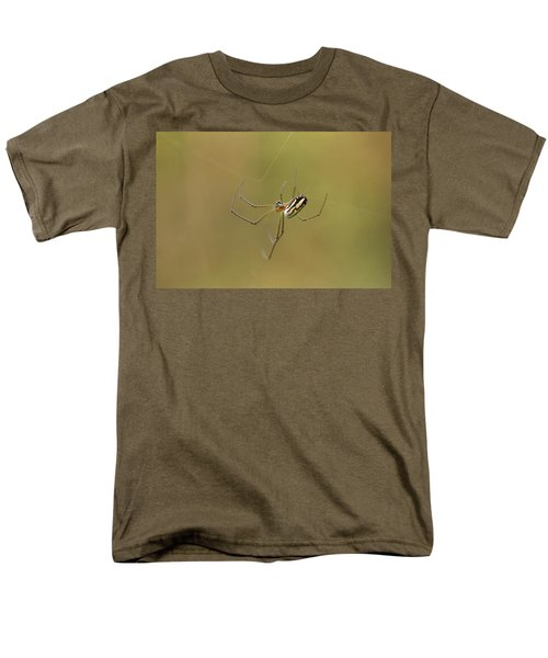 Men's T-Shirt  (Regular Fit) featuring the photograph Orchard Spider by Greg Allore