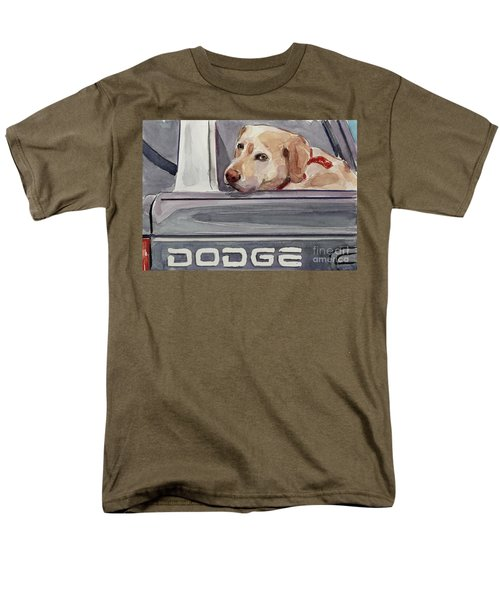 Out Of Dodge Men's T-Shirt  (Regular Fit) by Molly Poole