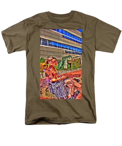 Men's T-Shirt  (Regular Fit) featuring the photograph Out Of Phase 2 by Andy Lawless