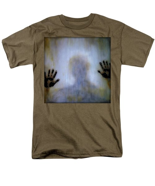Outsider Men's T-Shirt  (Regular Fit) by Lilia D