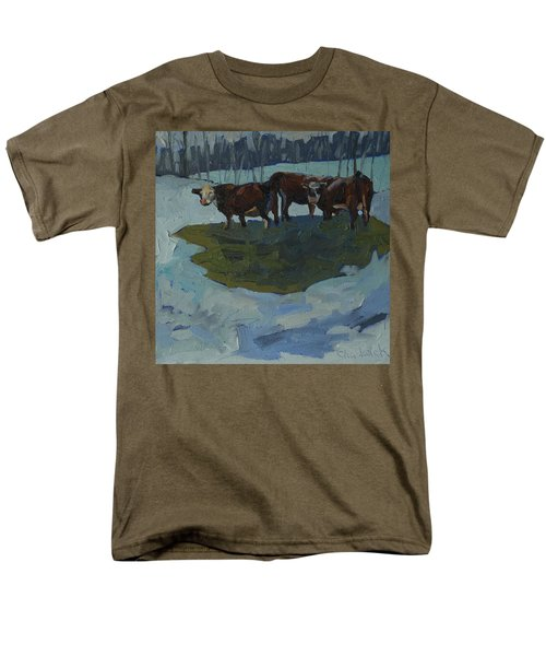 Outstanding In Their Field Men's T-Shirt  (Regular Fit) by Phil Chadwick