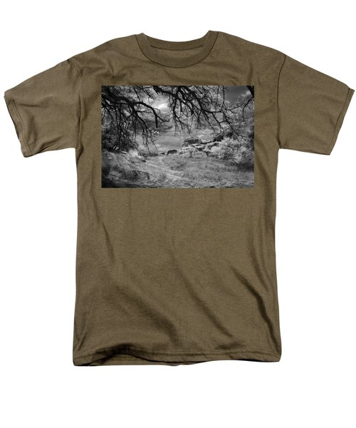 Overhanging Branches Men's T-Shirt  (Regular Fit) by Michael McGowan