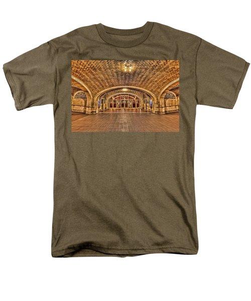 Oyster Bar Restaurant Men's T-Shirt  (Regular Fit) by Susan Candelario