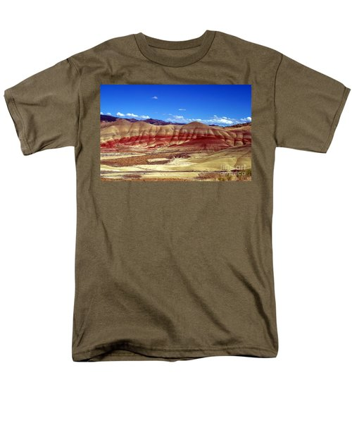 Men's T-Shirt  (Regular Fit) featuring the photograph Painted Hills by Chalet Roome-Rigdon