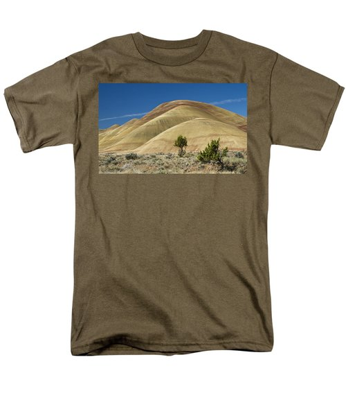 Men's T-Shirt  (Regular Fit) featuring the photograph Painted Hills by Sonya Lang