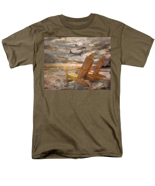Pairs Along The Coast Men's T-Shirt  (Regular Fit) by Betsy Knapp