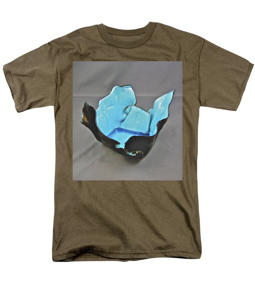 Men's T-Shirt  (Regular Fit) featuring the sculpture Paper-thin Bowl  09-001 by Mario Perron