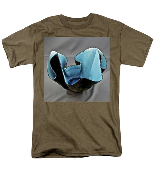 Men's T-Shirt  (Regular Fit) featuring the sculpture Paper-thin Bowl  09-003 by Mario Perron