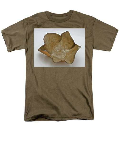 Men's T-Shirt  (Regular Fit) featuring the sculpture Paper-thin Bowl  09-010 by Mario Perron