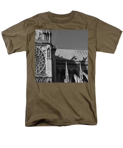 Paris Ornate Building Men's T-Shirt  (Regular Fit) by Cheryl Miller