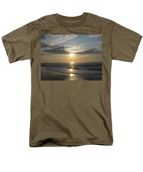 Pastel Sunrise Men's T-Shirt  (Regular Fit) by Ellen Meakin