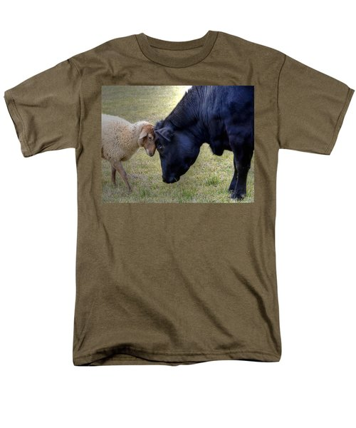 Pasture Pals Men's T-Shirt  (Regular Fit) by Charlotte Schafer