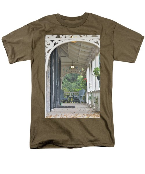 Pause For Reflection Men's T-Shirt  (Regular Fit) by David Porteus