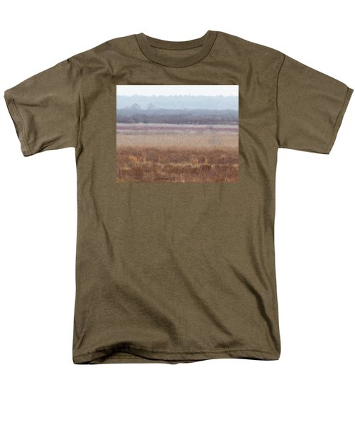 Men's T-Shirt  (Regular Fit) featuring the photograph Paynes Prairie White Birds by Paul Rebmann
