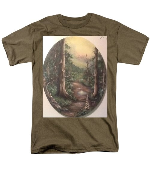 Men's T-Shirt  (Regular Fit) featuring the painting Peace Time by Megan Walsh