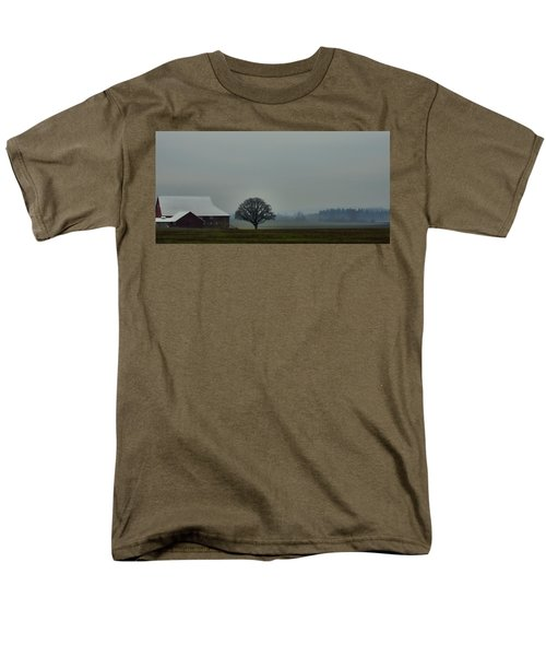 Peaceful Country Morning Men's T-Shirt  (Regular Fit) by Don Schwartz