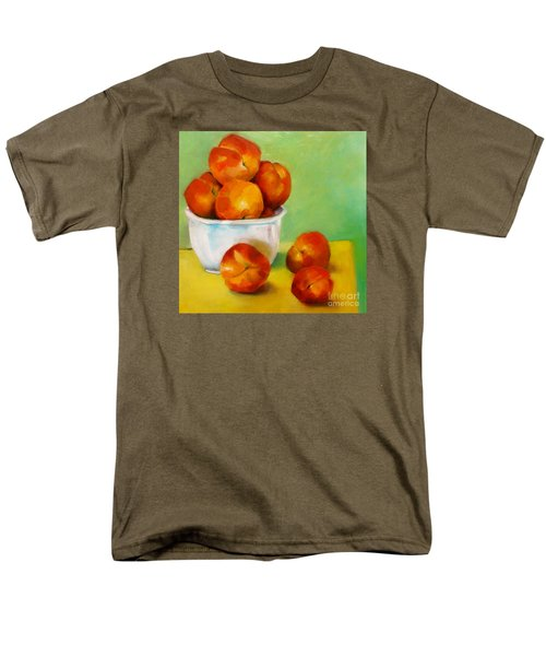 Peachy Keen Men's T-Shirt  (Regular Fit) by Michelle Abrams