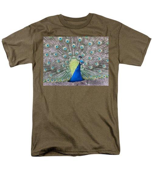 Peacock Men's T-Shirt  (Regular Fit)
