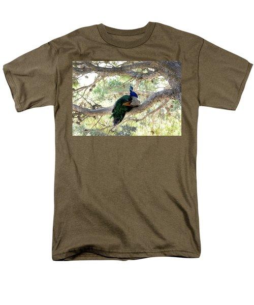 Peacock Men's T-Shirt  (Regular Fit) by Gina Dsgn