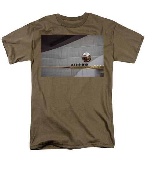 Men's T-Shirt  (Regular Fit) featuring the photograph Pendulum Sculpture by Patricia Babbitt
